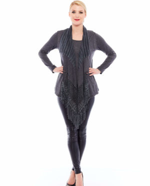 TWO PIECES KNITTED TOP - F107 410