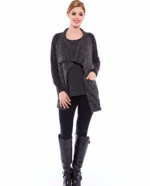 TWO PIECES KNITTED JACKET - F108 410
